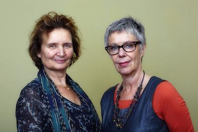 Ida Linse en Marijke Bruining