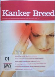 Kanker Breed 1-2015 Cover Zijn met de pijn 187x260